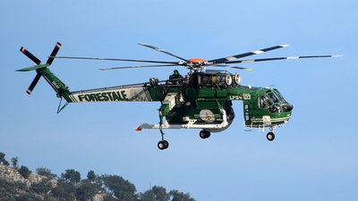 I-CFAJ - Sikorsky S-64F Helitanker - Italy - Forestale