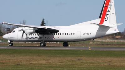 OO-VLJ - Fokker 50 - CityJet
