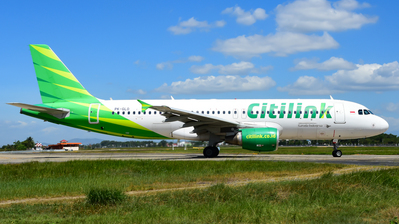 PK-GLO - Airbus A320-214 - Citilink