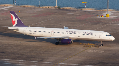 B-MAP - Airbus A321-232 - Air Macau