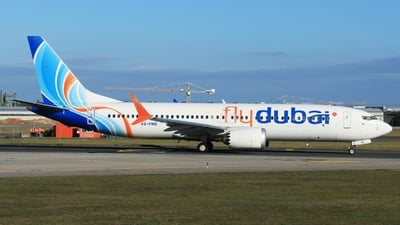 A picture of A6FME - Boeing 737 MAX 8 - FlyDubai - © Miroslav Musil