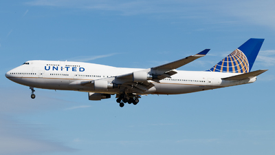 N116UA - Boeing 747-422 - United Airlines