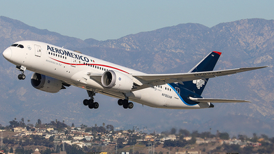 N782AM - Boeing 787-8 Dreamliner - Aeromexico