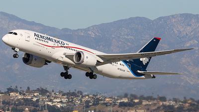 A picture of N782AM - Boeing 7878 Dreamliner - Aeromexico - © KenKen Huang