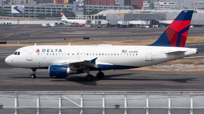A picture of N341NB - Airbus A319114 - Delta Air Lines - © Juan Carlos Alvarez (MAS Aviation Press)