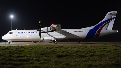 G-CLNK - ATR 72-211(F)(LFD) - West Atlantic Airlines