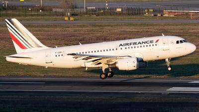 F-GRHJ - Airbus A319-111 - Air France