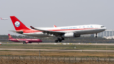 B-6518 - Airbus A330-243 - Sichuan Airlines