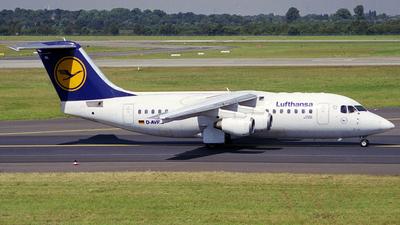 D-AVRL - British Aerospace Avro RJ85 - Lufthansa