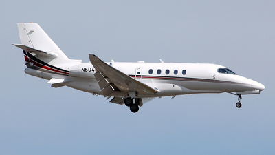 N504QS - Cessna Citation Latitude - NetJets Aviation