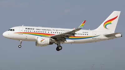 B-6473 - Airbus A319-115(LR) - Tibet Airlines