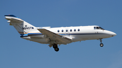 N840TM - Raytheon Hawker 800XP - Private