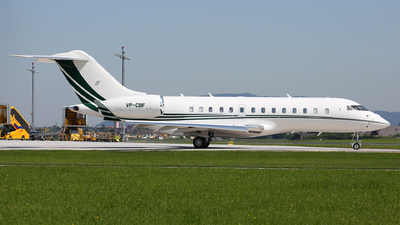 VP-CBF - Bombardier BD-700-1A11 Global 5000 - Private