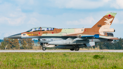 046 - General Dynamics F-16D Barak - Israel - Air Force
