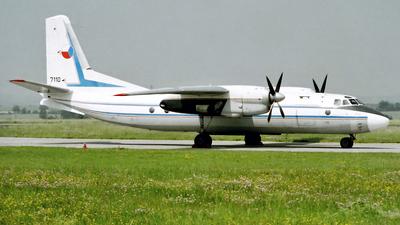 7110 - Antonov An-24B - Czech Republic - Air Force