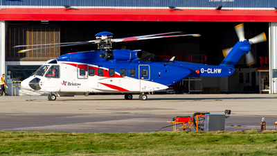 G-CLHW - Sikorsky S-92A Helibus - Bristow Helicopters