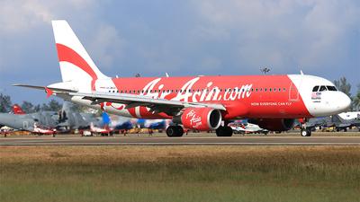 9M-AJS - Airbus A320-216 - AirAsia