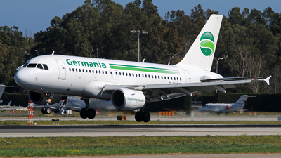 D-ASTR - Airbus A319-112 - Germania