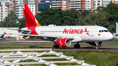A picture of N557AV - Airbus A319115 - Avianca - © OSCAR GUILLEN