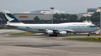 B-HKE - Boeing 747-412 - Cathay Pacific Airways
