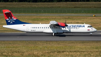 A picture of YUALT - ATR 72500 - AirSERBIA - © Thomas Ranner