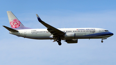 B-18658 - Boeing 737-8SH - China Airlines