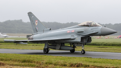 A picture of ZK331 - Eurofighter Typhoon FGR.4 -  - © Kelvin Jahae
