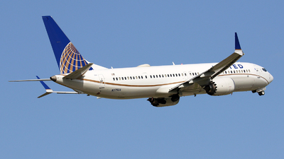 N37504 - Boeing 737-9 MAX - United Airlines