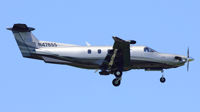A picture of N476SS - Pilatus PC12/47 - Boutique Air - © Agustin Anaya