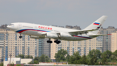 RA-96016 - Ilyushin IL-96-300PU - Rossiya - Special Flight Squadron