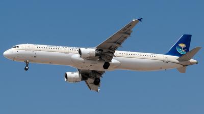 HZ-ASW - Airbus A321-211 - Saudi Arabian Airlines