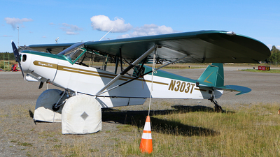 N303T - Piper PA-18-105 Super Cub - Private