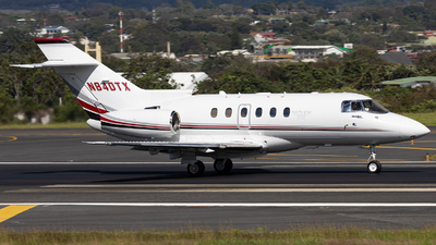 N840TX - Hawker Beechcraft 800XP - Private