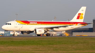 EC-LVD - Airbus A320-216 - Iberia