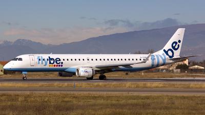 G-FBEC - Embraer 190-200LR - Flybe