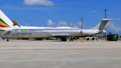N437AA - McDonnell Douglas MD-82 - Laser Airlines