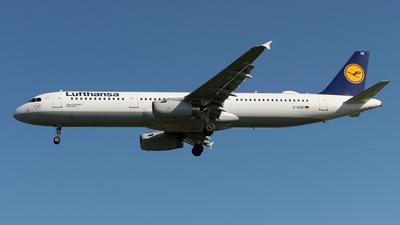 D-AISR - Airbus A321-231 - Lufthansa