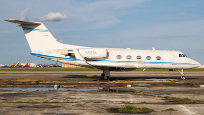 N417EK - Gulfstream G-II(SP) - Private