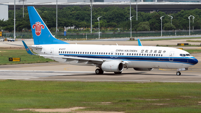 B-5717 - Boeing 737-81B - China Southern Airlines