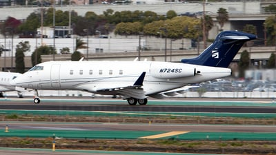 N724SC - Bombardier BD-100-1A10 Challenger 300 - Private
