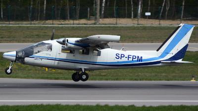 A picture of SPFPM - Partenavia P.68 Observer 2 - [42020/OB2] - © Piotr Trojan
