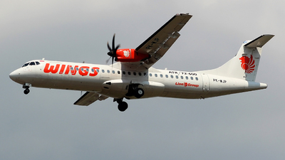 PK-WJP - ATR 72-212A(600) - Wings Air