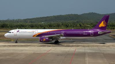 A picture of XU357 - Airbus A321211 - Cambodia Angkor Air - © HA-KLS