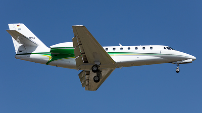 D-CMDH - Cessna 680 Citation Sovereign - Private