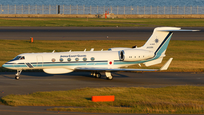 JA500A - Gulfstream G-V - Japan - Coast Guard