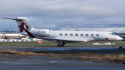 A7-CGB - Gulfstream G650ER - Qatar Executive