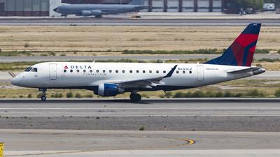 A picture of N603CZ - Embraer E175LR - Delta Air Lines - © David Lee