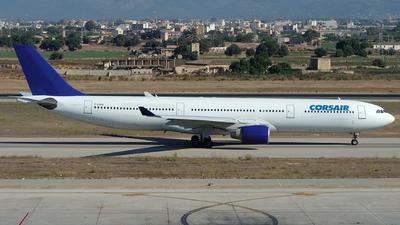 F-GJSV - Airbus A330-322 - Corsair