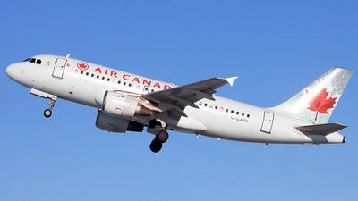 C-GAPY - Airbus A319-114 - Air Canada