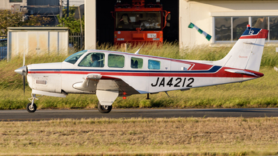 JA4212 - Beechcraft A36 Bonanza - SGC Saga Aviation